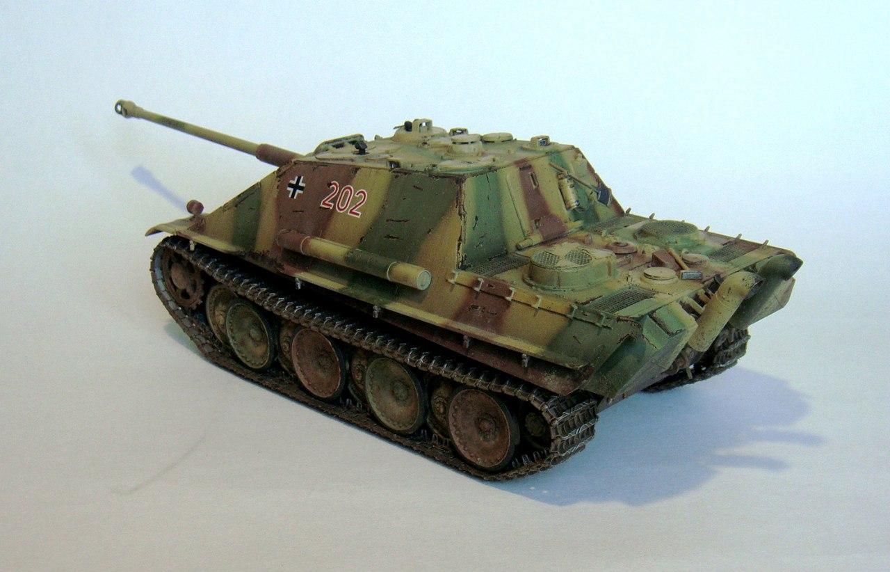 Jagdpanther (Late\поздний вариант) (Tamiya 35203 1/35) - Страница 2 U78V-hr51k4