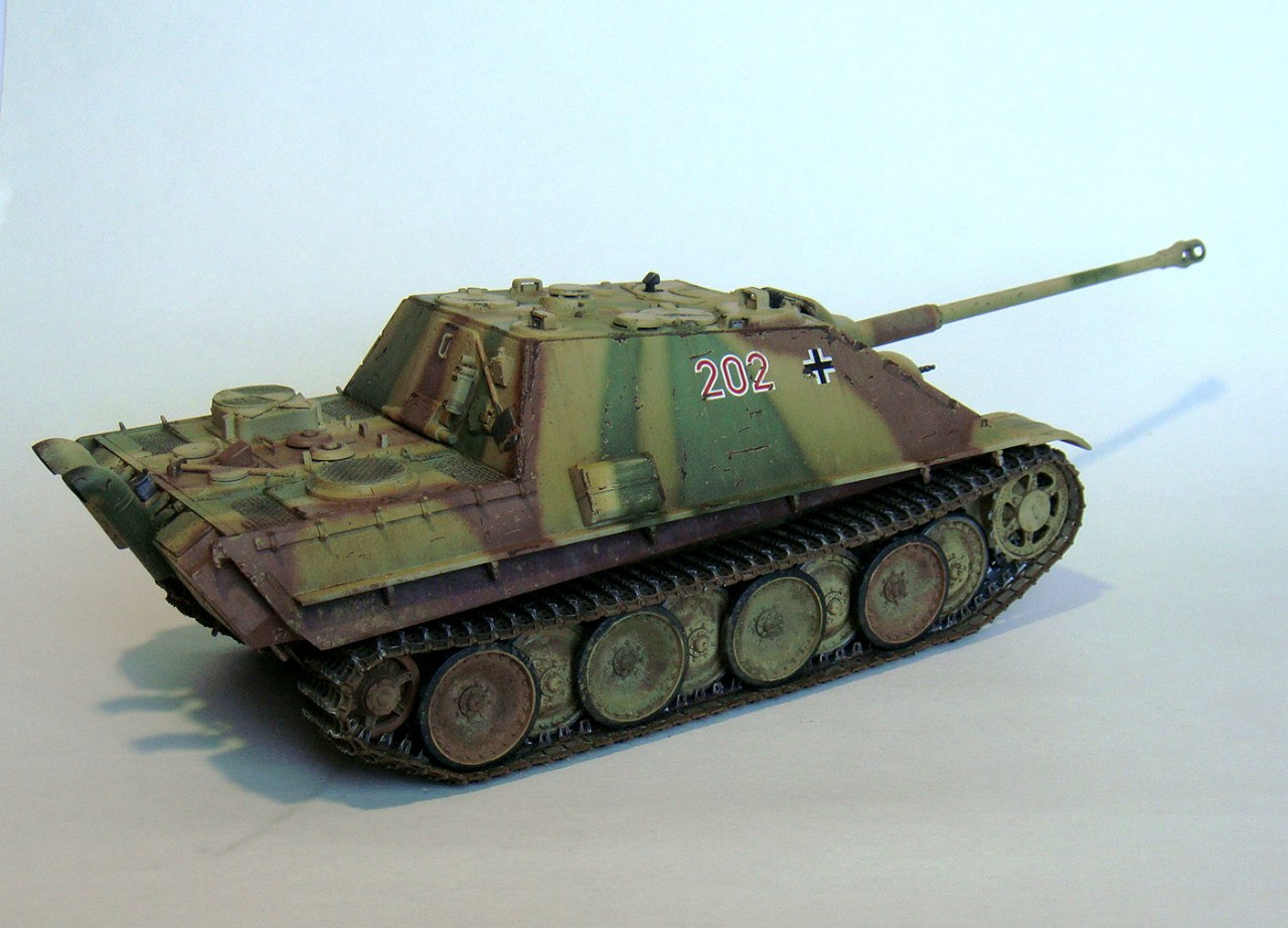 Jagdpanther (Late\поздний вариант) (Tamiya 35203 1/35) - Страница 2 ECqySyF3dgc