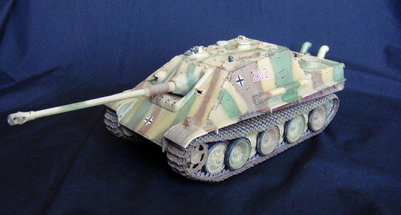 Jagdpanther (Late\поздний вариант) (Tamiya 35203 1/35) - Страница 2 WvfPk8u6D-4