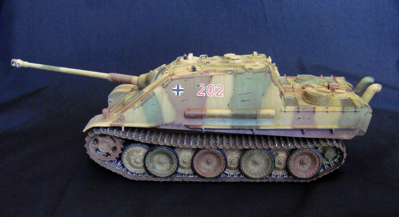 Jagdpanther (Late\поздний вариант) (Tamiya 35203 1/35) - Страница 2 A5IKXsopUEM