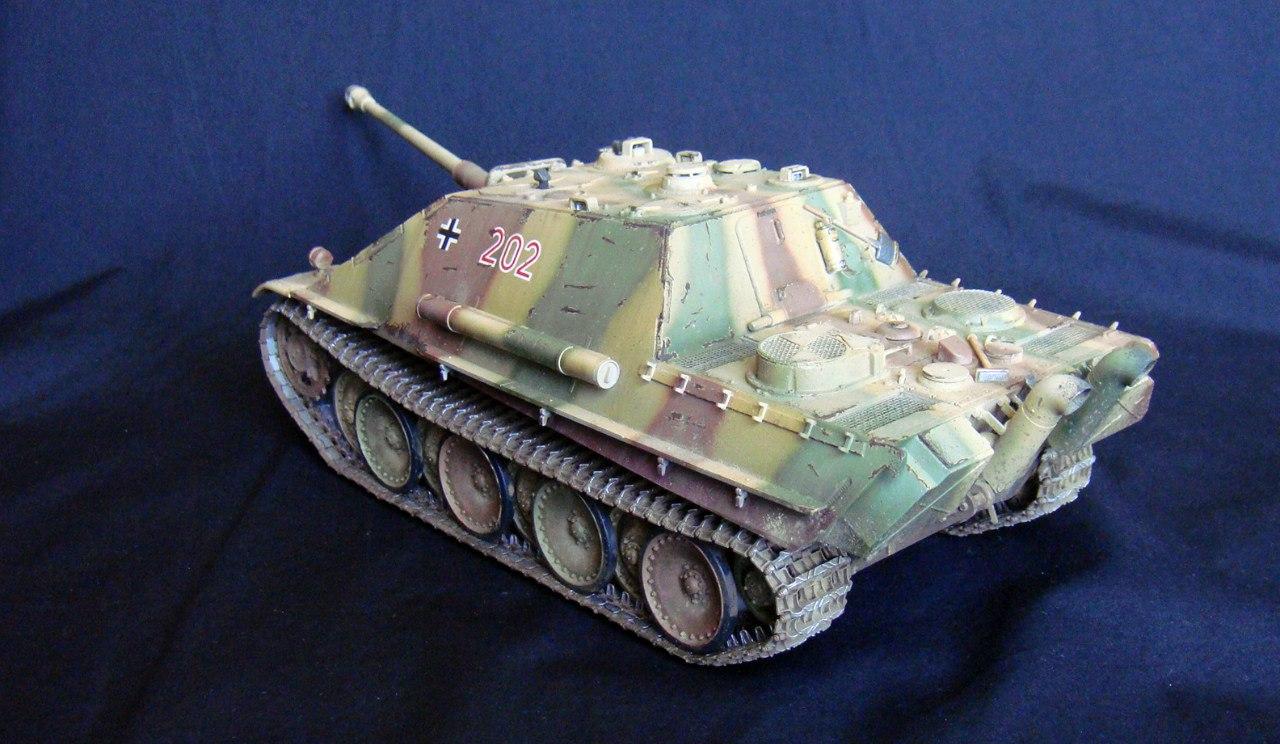 Jagdpanther (Late\поздний вариант) (Tamiya 35203 1/35) - Страница 2 ID6MyBonh3Y