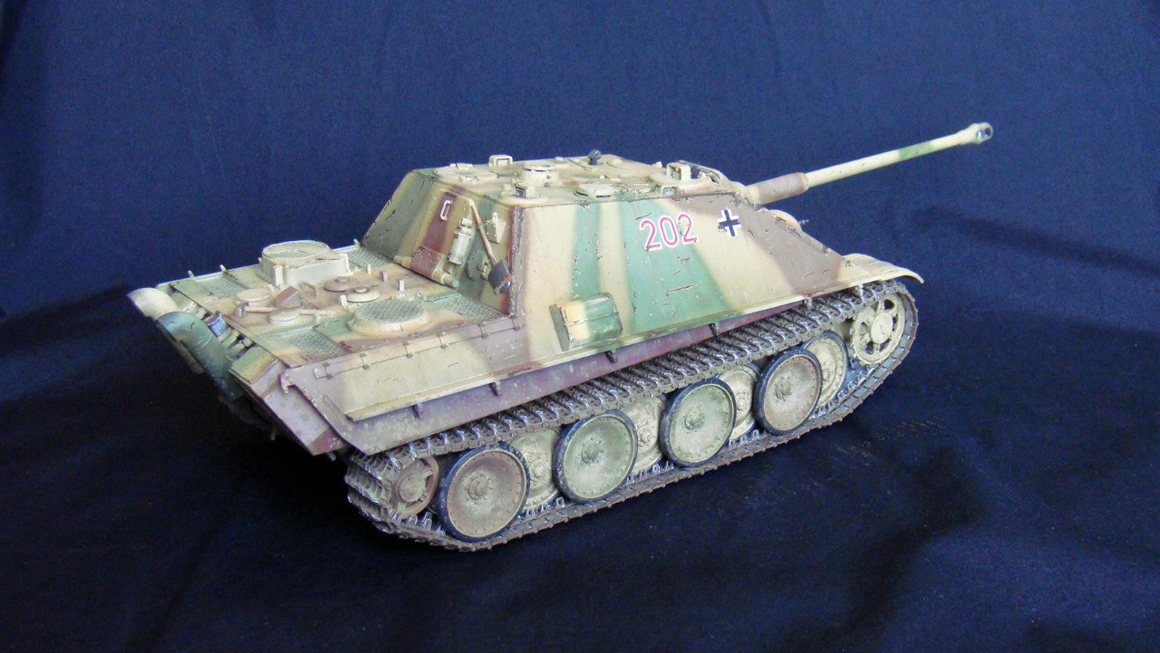 Jagdpanther (Late\поздний вариант) (Tamiya 35203 1/35) - Страница 2 KxICA7RJBRY