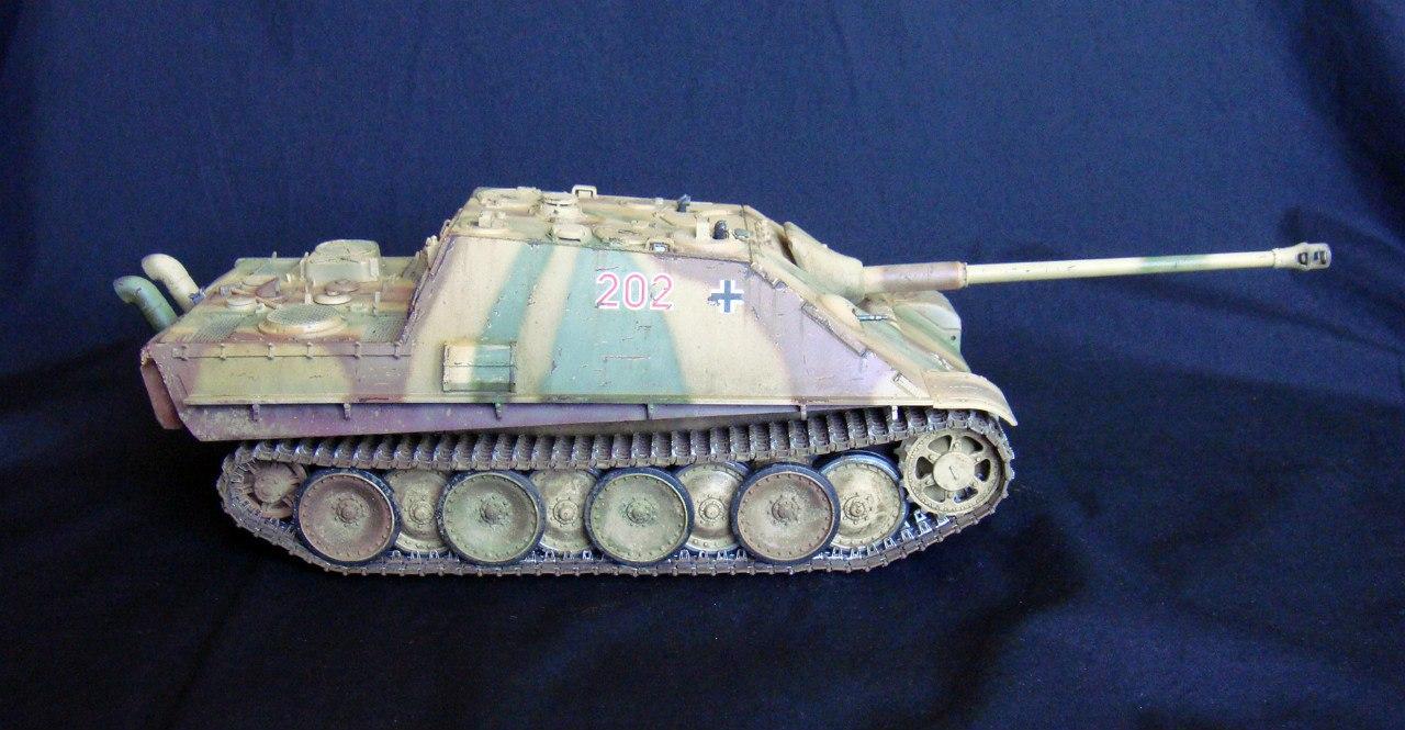 Jagdpanther (Late\поздний вариант) (Tamiya 35203 1/35) - Страница 2 -Xz9bvKzEUc