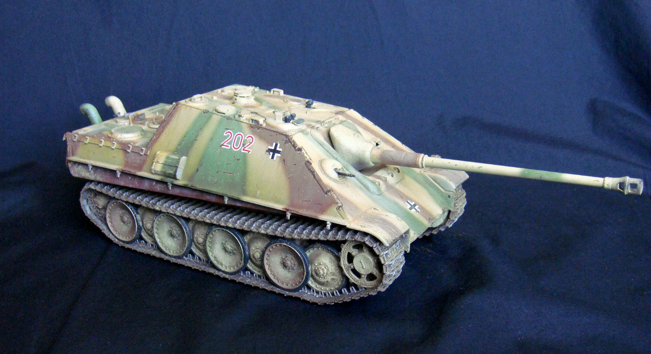 Jagdpanther (Late\поздний вариант) (Tamiya 35203 1/35) - Страница 2 W7pnm8QW1MI