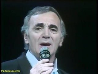 Charles Aznavour - Je me raccroche a Toi