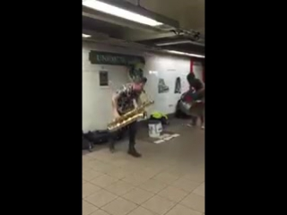 Обыкновенный подземный переход в США