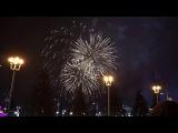 Москва, ВДНХ. Салют на Новый Год 2016