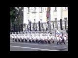 Девушки курсантки ВИ МО после Парада Победы 9 мая 2016