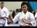 FAMALE KARATE RIKA Usami Special Training KATA WKF
