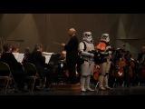Музыка из фильма Звездные войны в исполнении оркестра из Толедо.