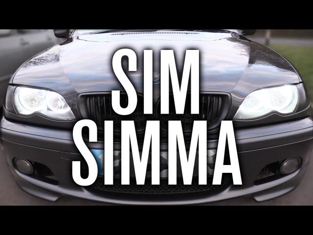 SIM SIMMA - MY FRIENDS BIMMA (BMW 320d) | Lexus IS200 Car Vlog!