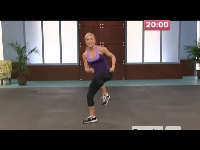 10 Pound Slimdown Xtreme_05 - Cardio Kickbox (40 min)