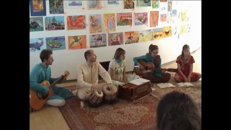 Sahaja Yoga Concert. India Music.SHANTI.LT. Riga 29.05.10 Intro 10 min