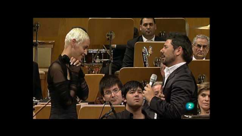 Miguel Poveda Mariza y la ONE Meu fado meu - Auditorio Nacional de Madrid - 12.06.2010 » Freewka.com - Смотреть онлайн в хорощем качестве