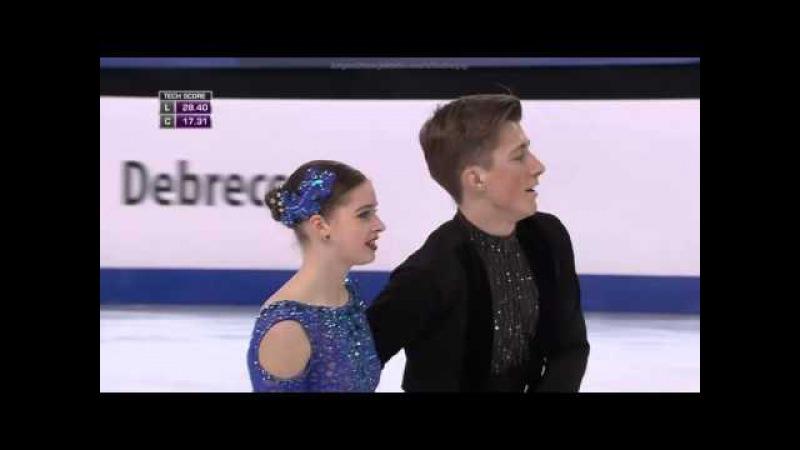 2016 World Junior Championships. Junior Ice Dance - SD. Maria OLEYNIK / Yuri HULITSKI