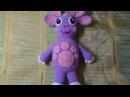 Лунтик из мультфильма. Мягкая игрушка вязаная крючком. Часть 4