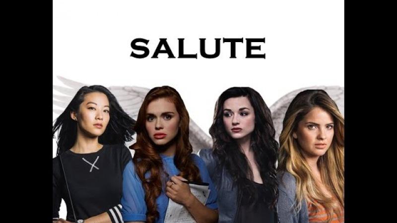 Lydia, Allison, Malia and Kira | Salute