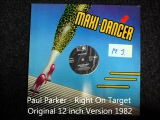 Paul Parker - Right On Target Original 12 inch Version 1982