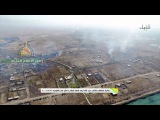 Battle of Fallujah: Drone video of the battlefield during the pounding of ISIS positions