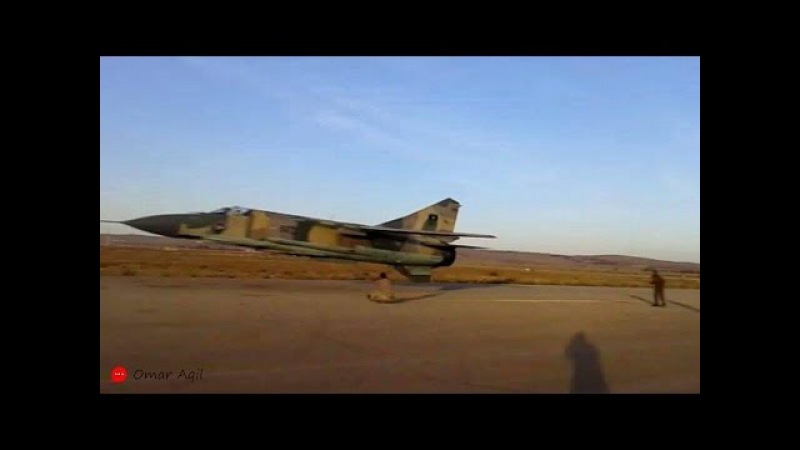 Libya FLAF Mig 23ML - These Are The Lowest and the Fastest Low Pass Ever Made...