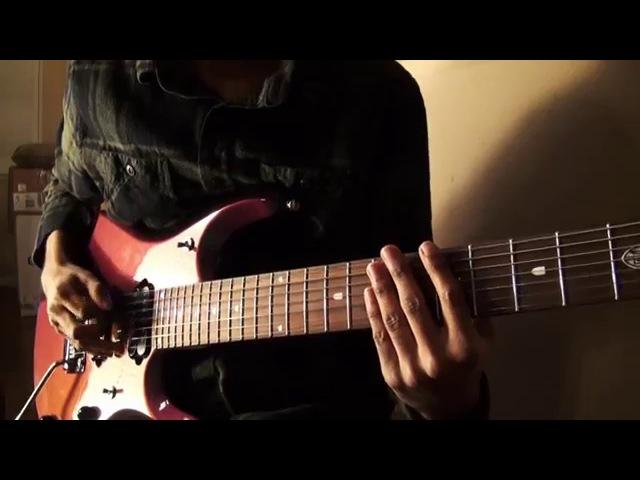 Hiren Saravana • Arachnophobia (HD) • Ernie Ball Music Man JP7 (7-String Djent)