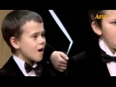 Solovyov-Sedoy's Moscow Nights, sung by the Boys Choir of the Glinka Choral College