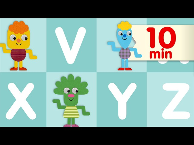 The Alphabet Chant More   ABC Songs   Super Simple Songs