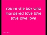 Diana Vickers boy who murdered love lyrics