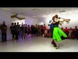 Предновогодняя милонга, танец Алексея и Хельги!