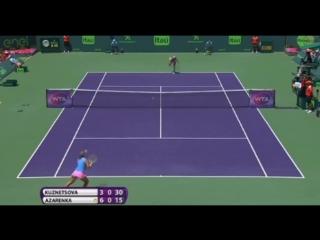 Victoria Azarenka vs Svetlana Kuznetsova Highlights Final 2016