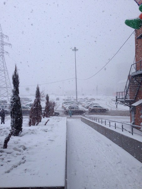 Самара снежок