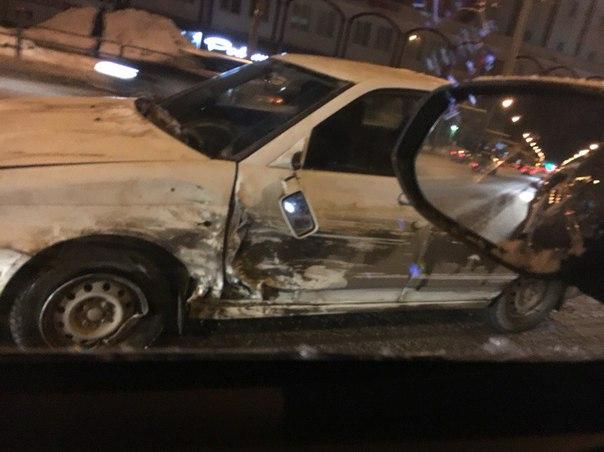 Авария на Московском шоссе