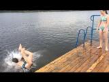 когда ты профессиональный прыгун в воду