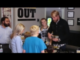 Pro football player Greg Olsen was in the house to give some fans a holiday bonus. Check it out.  #YouGiveYouGet