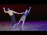 Stephen Chandrae - Shag Showcase/Stephen и Chandrae. Рок-фестиваль. Свинг танцы в Мюнхене. Джамбори Бал в Немецком театре (10