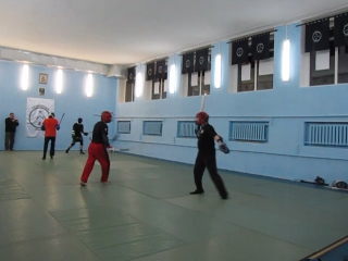 Две палки vs Длинный меч: Евгений Васильев (DB) - Александр Козлов (АБФ)