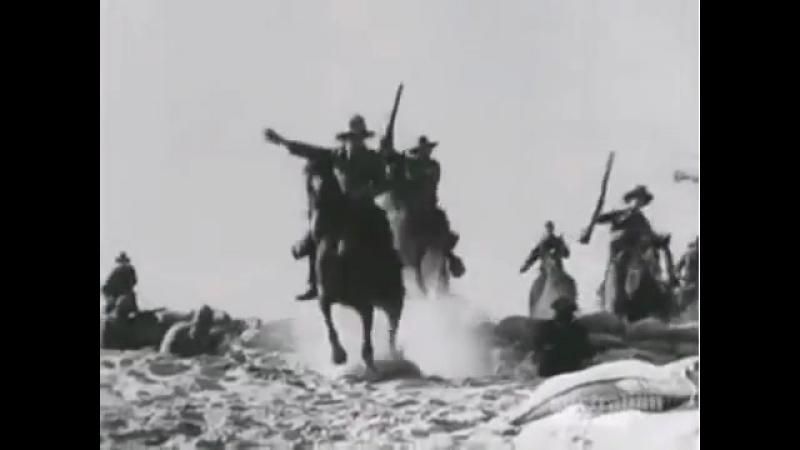 40 тысяч всадников (кавалеристов) 40 000 Horsemen / Forty Thousand Horsemen (1940). Атака австралийской легкой кавалерии.