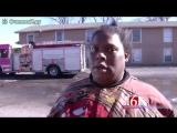 Дома в огне - интервью негритянки