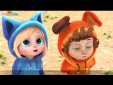 Head Shoulders Knees and Toes ¦ Action Song ¦ Nursery Rhymes and Baby Songs from Dave and Ava