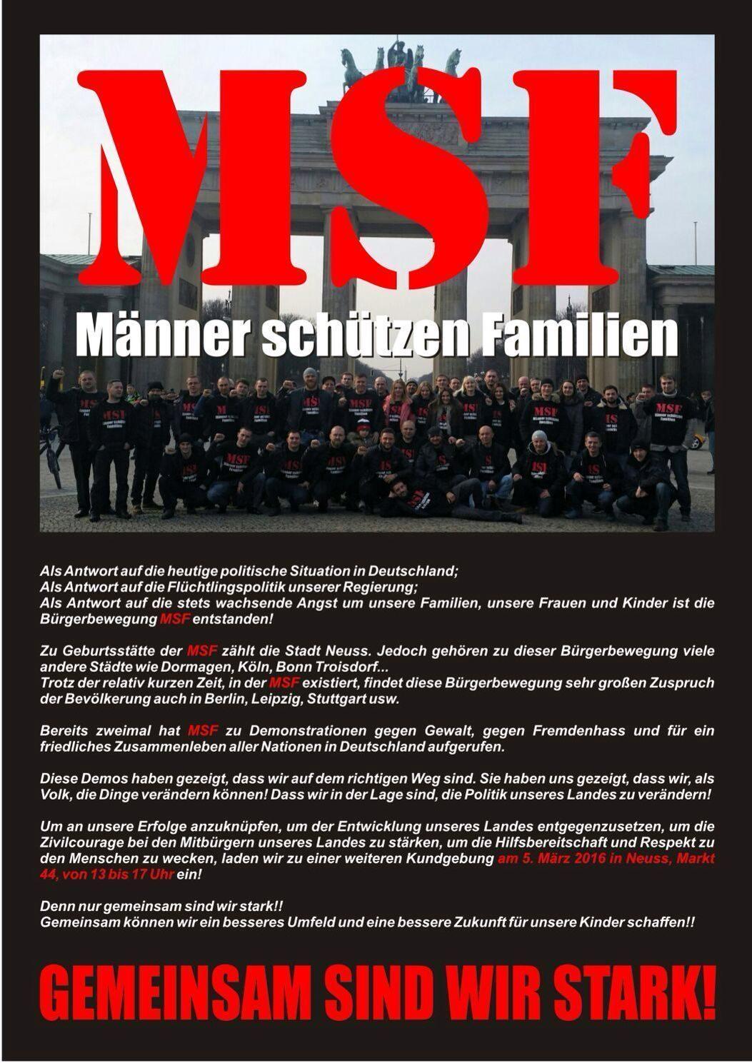 MSF - Мужчины защищают семьи