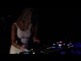 Helly Mae Hellfire DJing in Hollywood