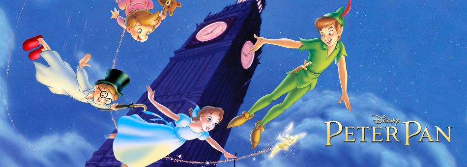Новый фильм «Питер Пэн» от Disney