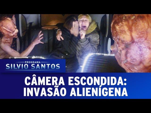 Câmera Escondida (040916) - Invasão Alienígena (Extraterrestrial Prank)