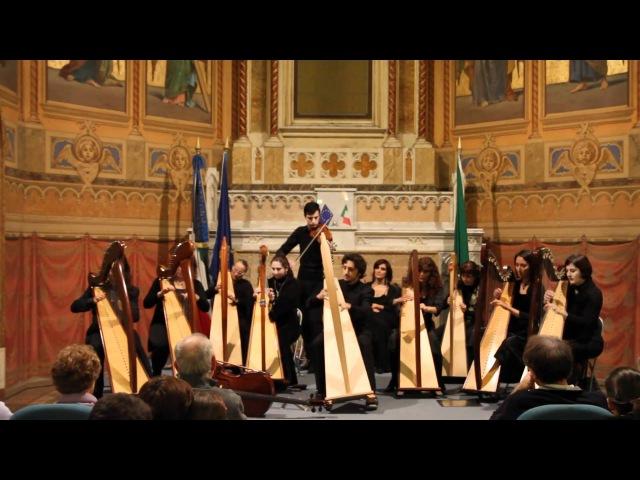 Celtic Harp Orchestra Brian Boru Live @ Treviglio BG 13 11 10
