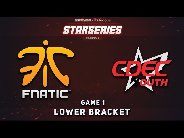 Fnatic vs. CDEC.Y - Game 1 @ SL i League S2, Dota 2
