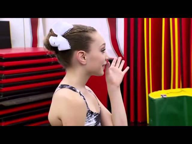Dance Moms Maddie Has Her First Kiss