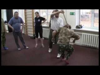 Сечевая гимнастика пластунов - Часть 1-1 Семинар Сергея Колюшенко (Колючий)
