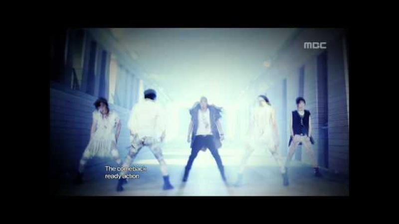 NU'EST - Action, 뉴이스트 - 액션, Music Core 20120714