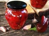 Запеченный перец в ароматном масле Домашнее консервирование