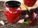 Запеченный перец в ароматном масле | Домашнее консервирование